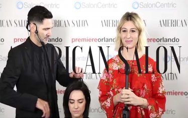 PHILLIP ROSADO LIVE WITH AMERICAN SALON MAGAZINE: HOW-TO VIDEO: FACE-FRAMING FRINGE