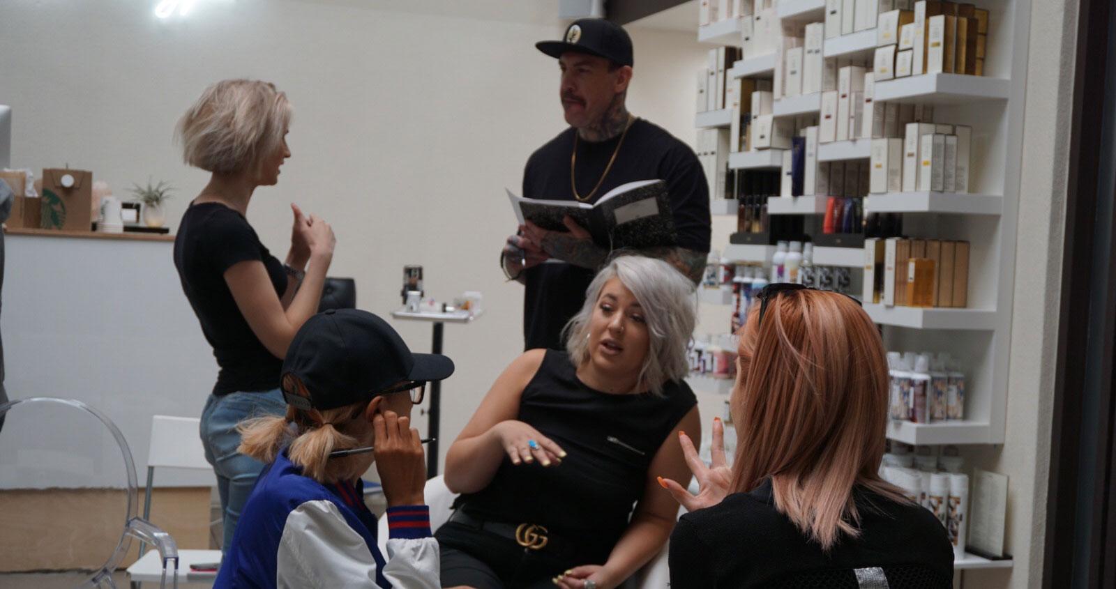 Hair Dresser Reset   Professional Stylist Training by Phillip Rosado